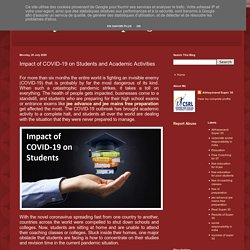 Impact of COVID-19 on Students and Academic Activities