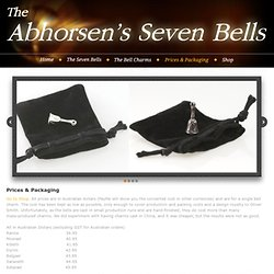 The Abhorsens Seven Bells - Prices & Packaging