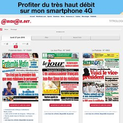 Abidjan news Titrologie