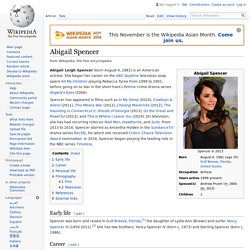 Abigail Spencer - Wikipedia