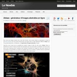 Ablaze : générateur d'images abstraites en ligne