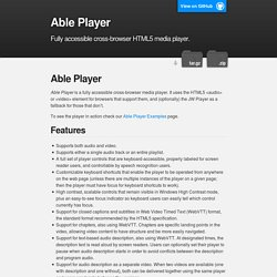 Able Player