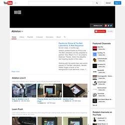 AbletonInc's Channel