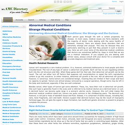 Abnormal Medical Conditions - Medical Article Directory - Medical Article Directory