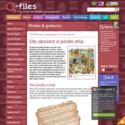 Life aboard a pirate ship - Q-files Encyclopedia