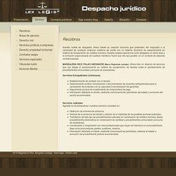 Abogados en Yecla - Bufete jurídico de Abogados en Yecla, Murcia - Servicios