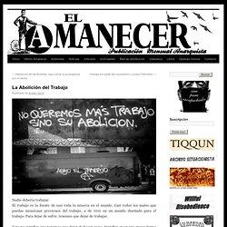 Periódico anarquista El Amanecer