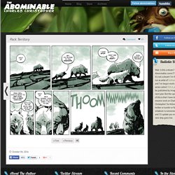 The Abominable Charles Christopher - A Webcomic by Karl Kerschl