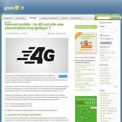 Internet mobile : la 4G est-elle une abomination énergétique
