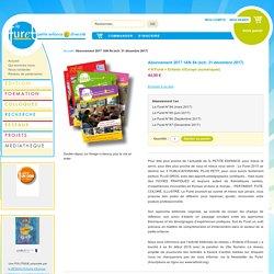 Abonnement 2017 1AN 84 (éch. 31 décembre 2017) - Association Le Furet