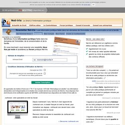 Abonnement au Portail de Net-iris