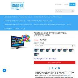 Abonnement smart IPTV & android box tv le moins cher