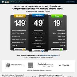 Prix & abonnements | Taskii - Logiciel de gestion de projet et feuilles de temps en ligne