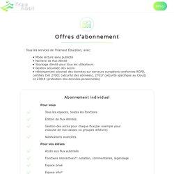 S'abonner à Treenaut App, Premium ou Éducation