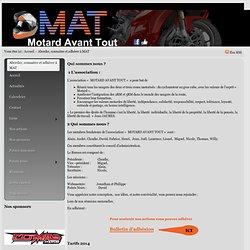 Aborder, connaitre et adhérer à MAT