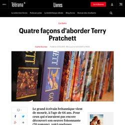 Quatre façons d'aborder Terry Pratchett