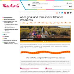 Aboriginal and Torres Strait Islander Resources