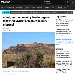 Aboriginal community tensions grow following SA parliamentary inquiry proposal