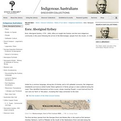 Eora: Aboriginal Sydney