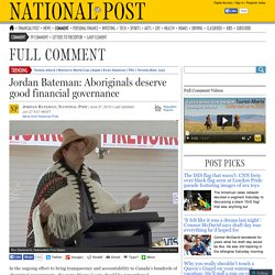 Aboriginals deserve good financial governance
