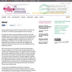 """Un proyecto de ZEMOS98. """"16 Festival ZEMOS98"""""""