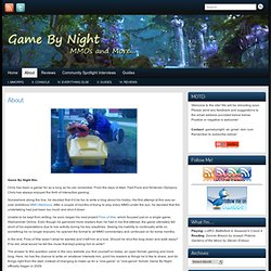 Game By Night » About
