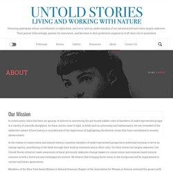 Untold Stories of Natural History Blog