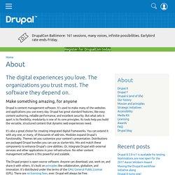 About Drupal