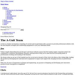 About - A-Unit