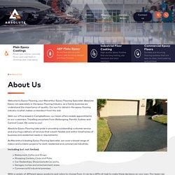 Epoxy Resin, Polished Concrete, Garage Floor Paint, Concrete Paint, Industrial Flooring & Epoxy Flooring in Sydney
