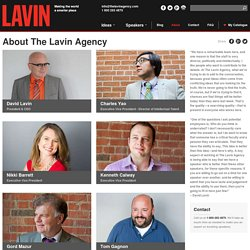 The Lavin Agency Speakers Bureau