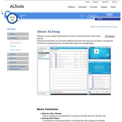 About-ALSong