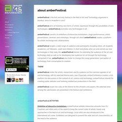 about amberFestival