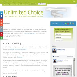 About Amit - Unlimited Choice