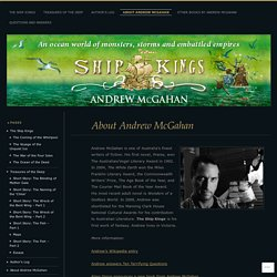 About Andrew McGahan