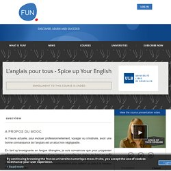 About L'anglais pour tous - Spice up your english