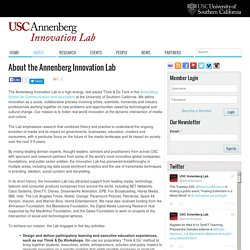 About the Annenberg Innovation Lab