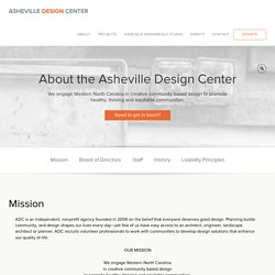 About the Asheville Design Center