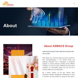 About ASMACS Group