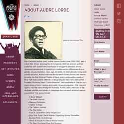 The Audre Lorde Project