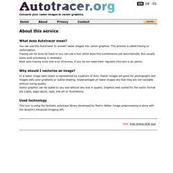 About - autotracer.org