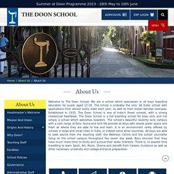 About Us - Best Boarding School for Boys