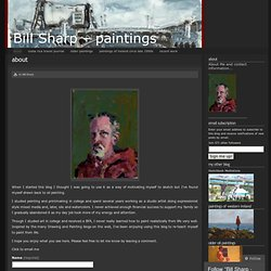 About « bill sharp – paintings