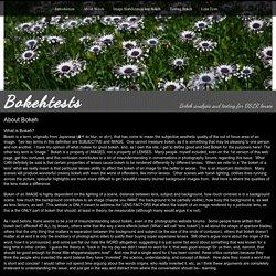 About Bokeh