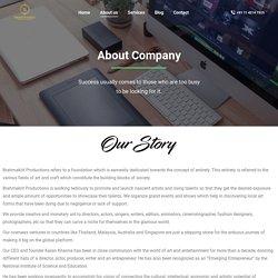 About us - Brahmakrit Productions