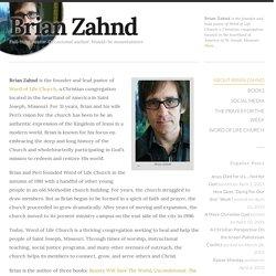 About Brian Zahnd - Brian Zahnd
