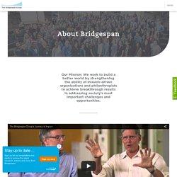 About Bridgespan