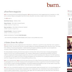 about burn magazine