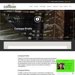 About Callbox Malaysia