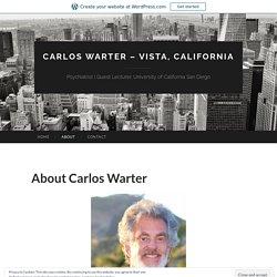 Carlos Warter – Vista, California